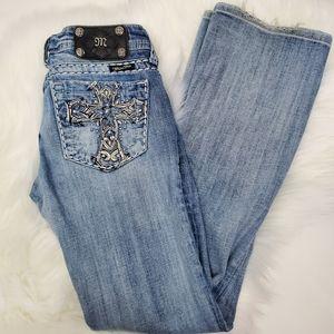 Miss Me Bootcut Jean's Size 25